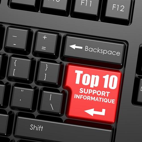 top 10 entreprises support informatique à quebec